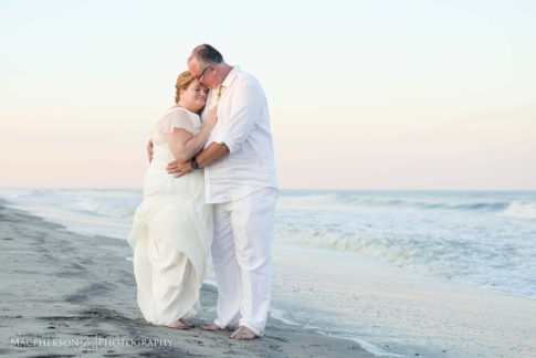 beach wedding photographer in cape may nj