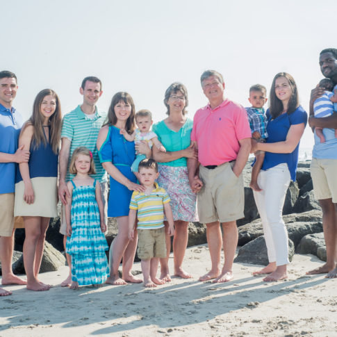 Professional Family Beach Portraits