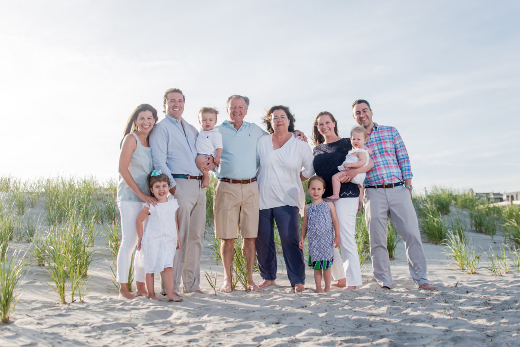 What is the best time for family photos on the beach in Ocean City NJ