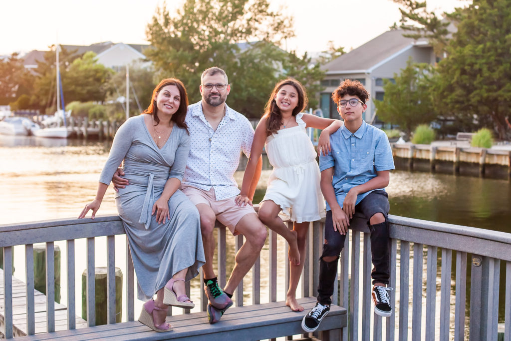 Family Portrait Photographer in LBI NJ
