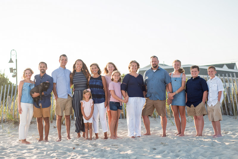 Family Beach Photographers in Cape May New Jersey